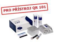 Testovací kit CRP/50 testů (předplněné kyvety), QuikRead 101