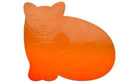 Tenura - dětská podložka na stůl, KOČKA, oranžová