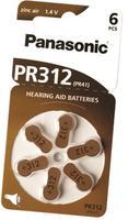 Baterie do sluchadel Panasonic PR312 (PR-312HEP/6DC)