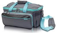 EB-Lehká lékařská taška sv.šedá/tyrkysová