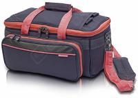 EB-Lehká lékařská taška tm.šedá/lososová