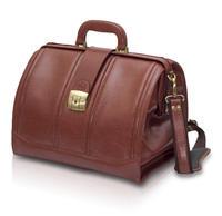 EB-tradiční taška lékařská, hnědá  kůže