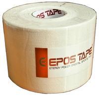 Tejp kineziologický Epos bavlna - bílý 5cmx5m