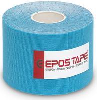 Tejp kineziologický Epos bavlna - modrý 5cmx5m