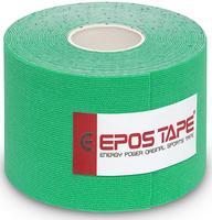 Tejp kineziologický Epos bavlna - zelený 5cmx5m