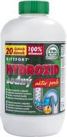 Hydroxid sodný 1kg, čistič odpadů