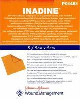 Inadine 5x5cm/5ks - sterilní
