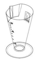 Nádoba (šampuska) na moč 100ml PH