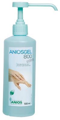 Aniosgel 800 - 500ml s pumpičkou