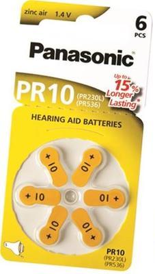 Baterie do sluchadel Panasonic PR10 (PR-230HEP/6DC)  - 1