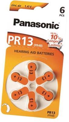 Baterie do sluchadel Panasonic PR13 (PR-13HEP/6DC)  - 1