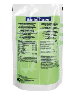 Bacillol tissues náhradní náplň/100ks