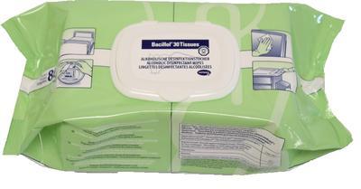 Mikrobac Tissues - dezinf. utěrky bez alkoholu 80ks