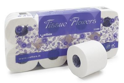 Toaletní papír 3vr., 250 útržků