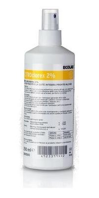 CITROclorex 2% 250ml, žlutá  etiketa, s rozprašovačem
