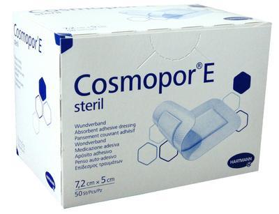 Cosmopor E steril  7,2x5cm - 50ks  - 1