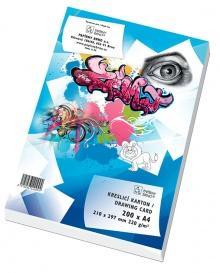 Kreslící karton A4 220g/200  - 1