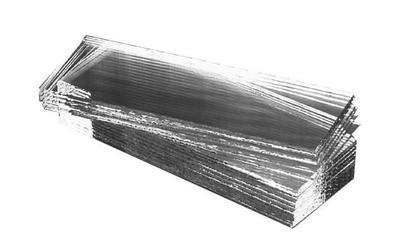 Mikrosklo 76x26x1mm, čiré (Hanson)