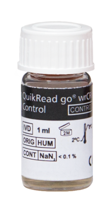 QuikRead Go WrCRP Control 1ml