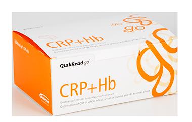 QuikRead Go CRP/50 testů, hemoglobin!