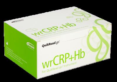 QuikRead Go wrCRP+ Hb  (souprava s kapilárami), 50testů