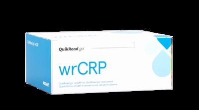 QuikRead Go wrCRP  (souprava s kapilárami), 50testů  - 1