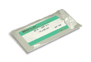 Silon monof.bl. DS 12mm 6/0 (0,7EP) 45cm  - 1