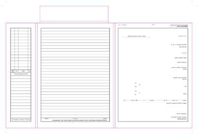 Zdravotní záznam 28x21cm  - 2