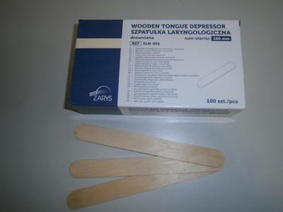 Lopatky lékařské 100ks  - 2