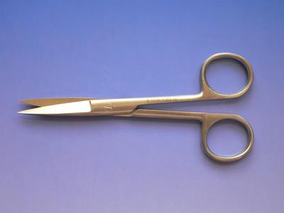 Nůžky chir. hrotnaté 15cm  - 2