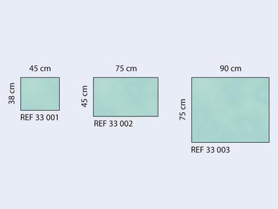 Rouška operační ster. Raucodrape 38x45cm  - 2