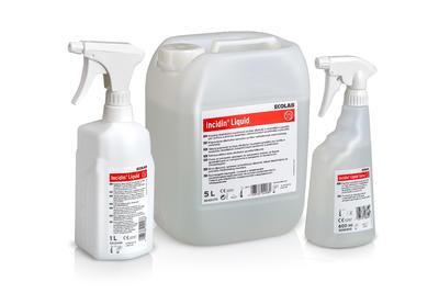 Incidin liquid 600ml se sprayovým aplikátorem  - 2