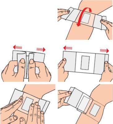 Curapor Transparent 7cmx 5cm/5ks  - 3