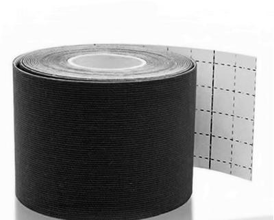 Tejp kineziologický Epos bavlna - černý 5cmx5m  - 3