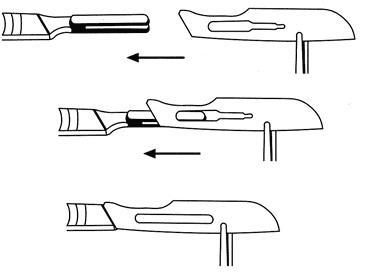 Čepelka skalpelová č. 24 steril. Heintel  - 4